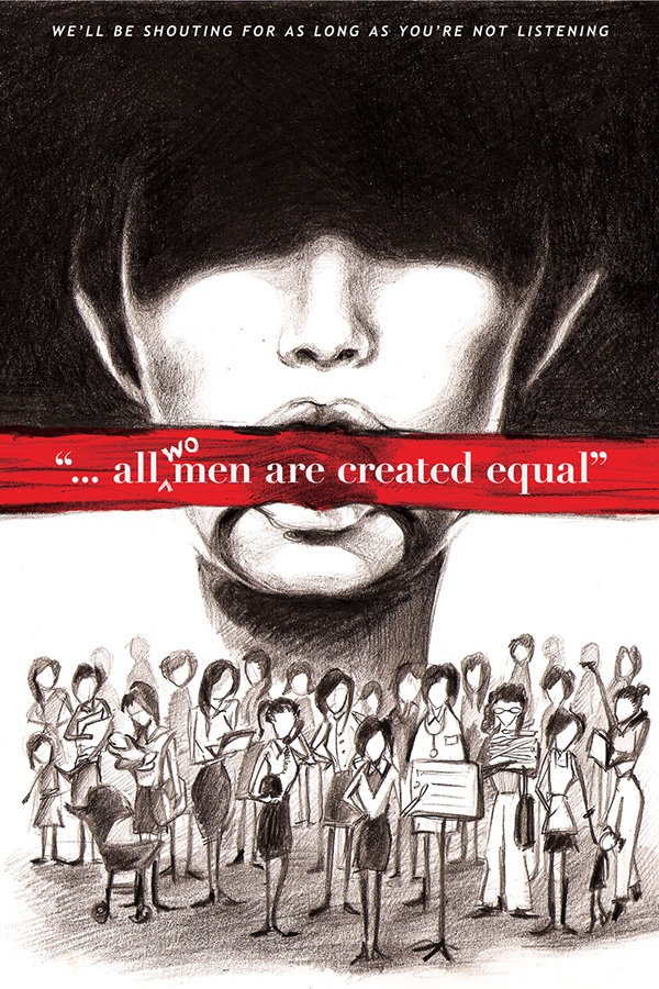 feminism poster on behance