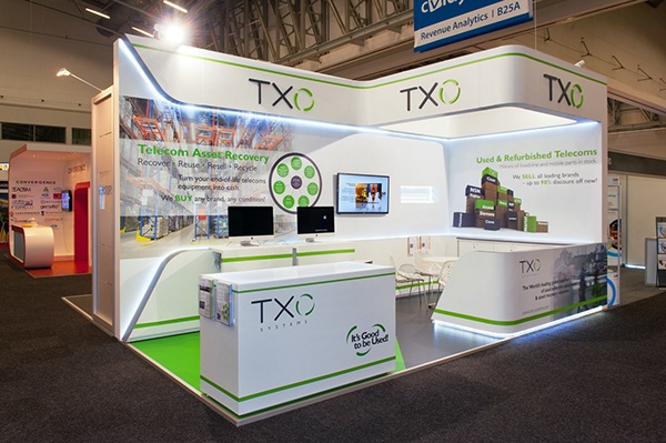 Small Exhibition Stand Jobs : Txo systems africacom on behance