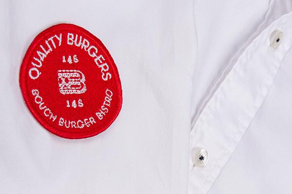 hot stamping mexico gold foil Kraft burger