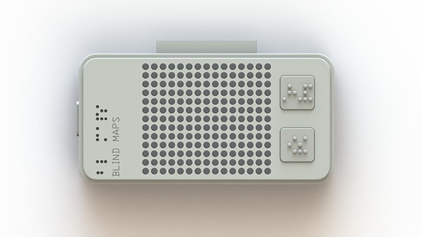 Service design CIID blind Braille navigation gps Accessibility iphone
