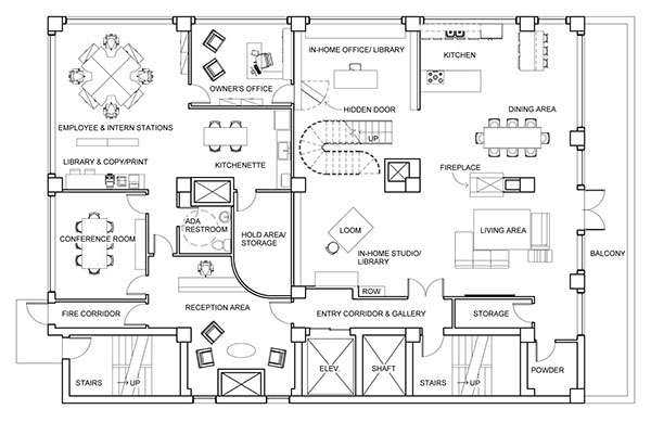 tribeca nyc loft on behance