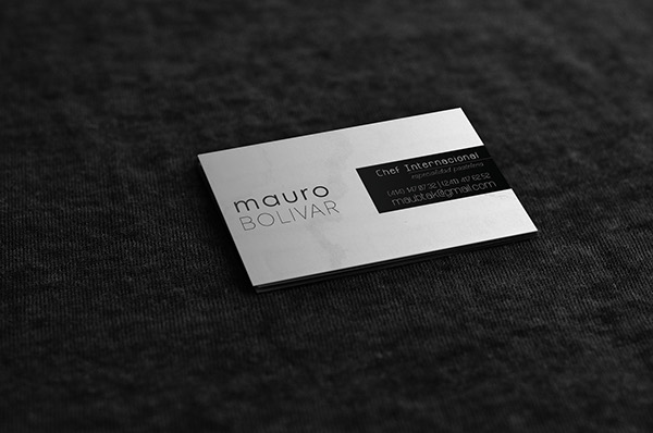 Creative business card inspiration minimal elegant on pantone chef business card minimal elegant colourmoves