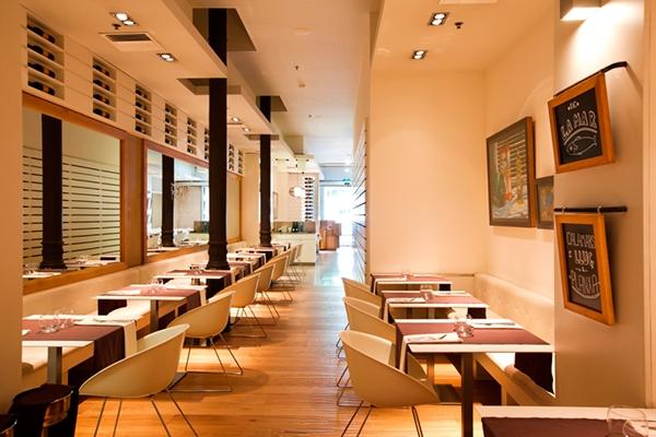 La botiga restaurant barcelona on behance - Restaurante attic barcelona ...