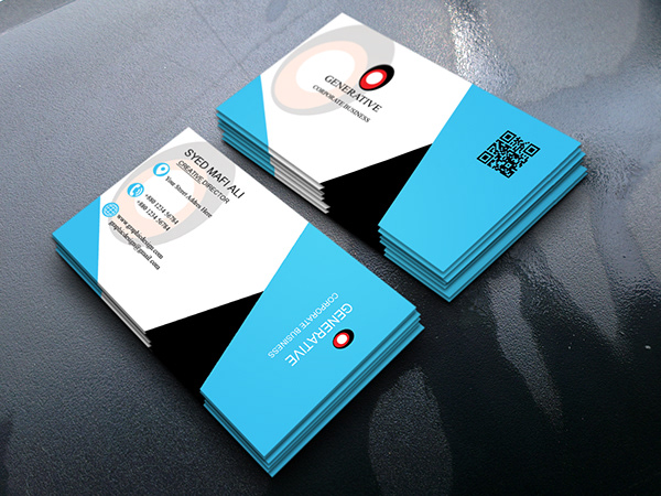 Corporate Business card samples