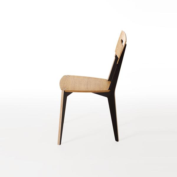IWOODLIKE Aileron Chair On Behance