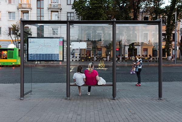 Street photos of Vinnytsia, Ukraine / August 11, 2020