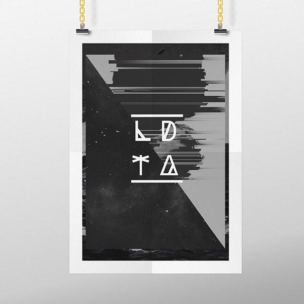 LDTA kalva Keith Alva flyer poster Promotion gif graphics minimal simple