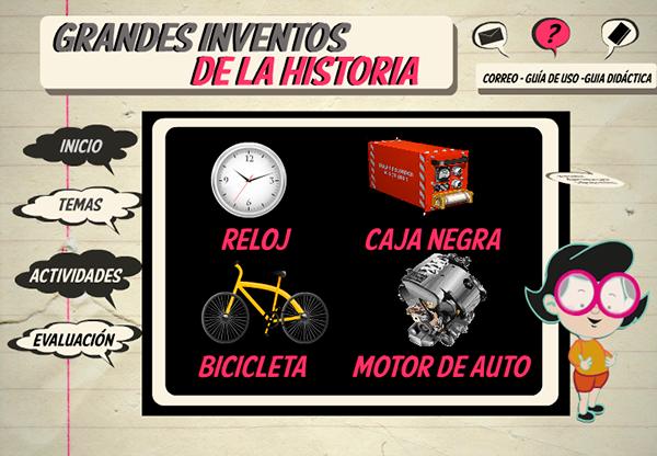 grandes inventos historia: