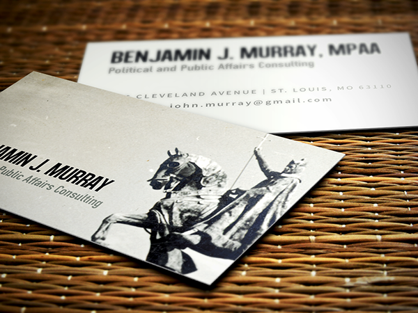 Business card st louis on behance colourmoves