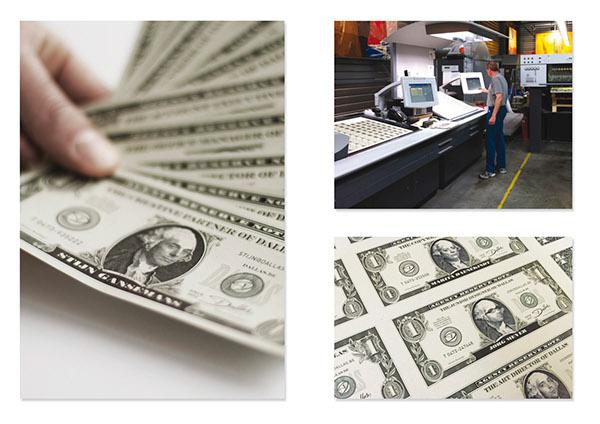 Business Cards I Dallas Dollar Bills on Behance
