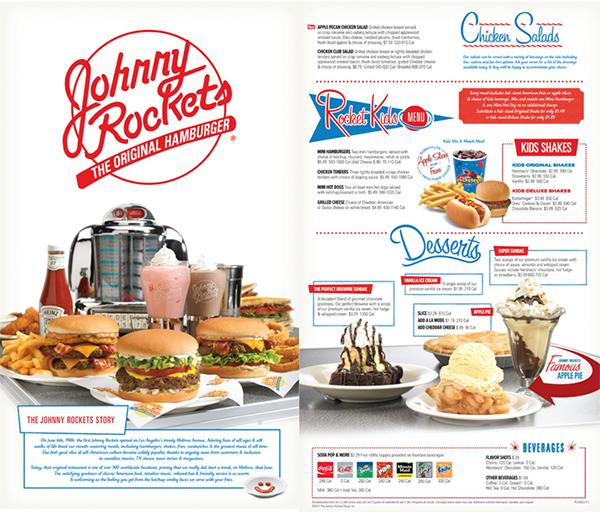 Johnny Rockets Menu Re... Johnny Rockets Sign