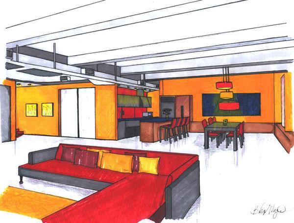 Eastern michigan university interior design portfolio on for Interior design years of college