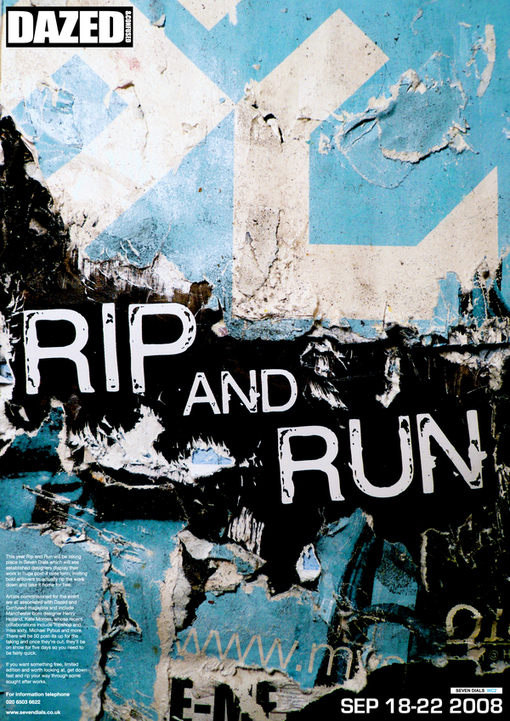 Rip And Run On Behance