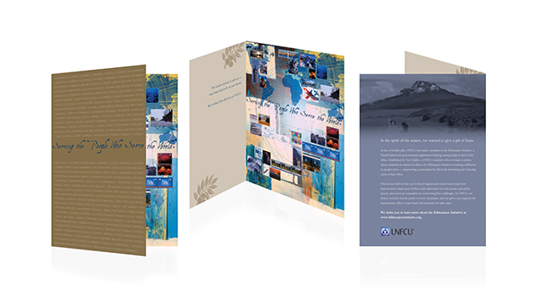 United Nations Federal Credit Union Holiday Card on Behance