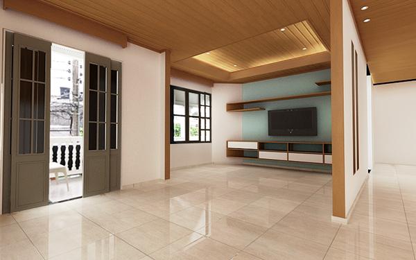 Remodelaci n casa mancera on behance for Remodelacion de casas interiores