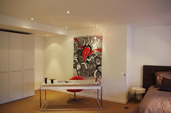Art painting on behance - Au salon rue daguerre ...