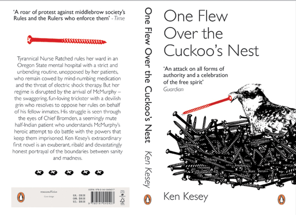 the use of religious imagery in ken keseys one flew over the cuckoos nest Considering louis althusser's inquiries into the function of ideology in sustaining power, the writers of this article discuss the operation of ideological and repressive apparatuses in the asylum ken kesey portrays in one flew over the cuckoo's nest.