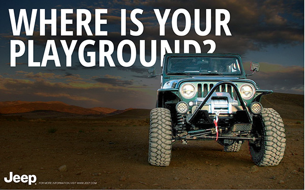 Jeep campaign on Behance
