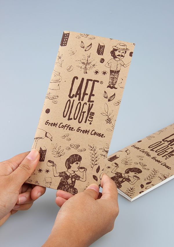 Cafeology Packaging Design On Behance