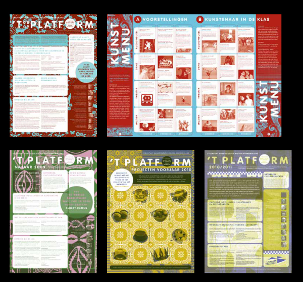 dessins Packaging books Logo's brochures