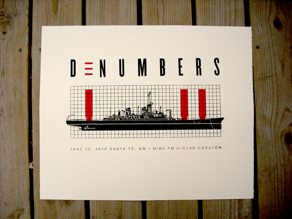 Event Poster poster D-Numbers