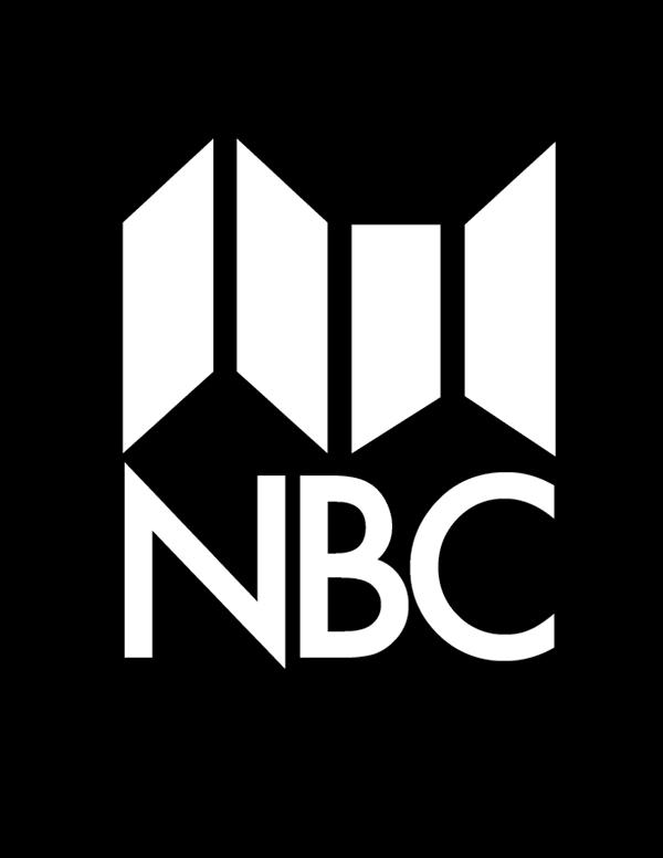 NBC | Logopedia | Fandom powered by Wikia  |Nbc News Logo Black