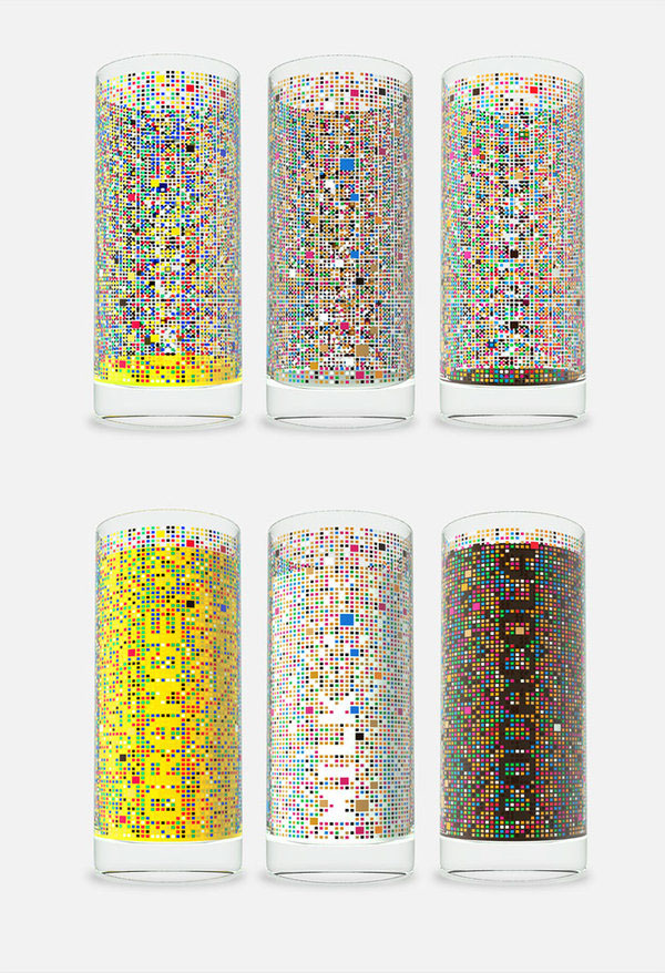 glass cipher Damjan stankovic relogik psychic home interior accessories