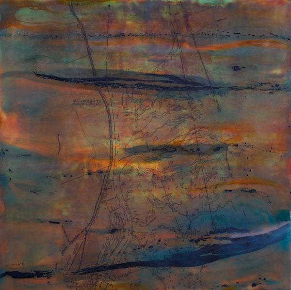 encaustic paintings Landscape