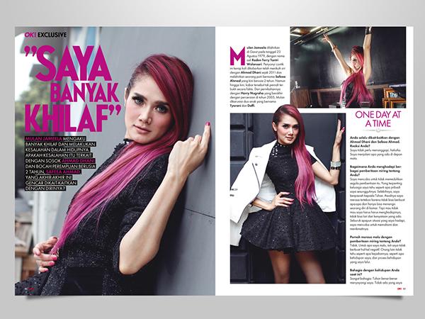 Mulan Jameela: Mulan Jameela For OK! Magazine On Behance