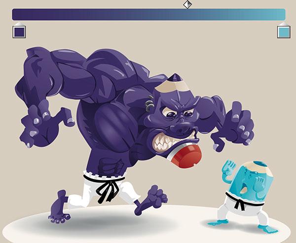 ilustracion vector personaje colores Ibagué phothoshop colombia