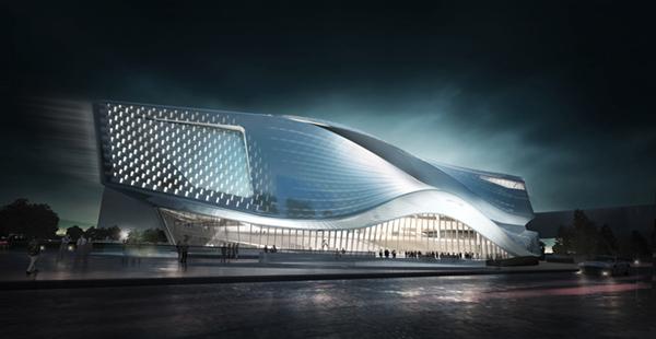 Dalian Museum Competition Design Concept Design On Behance