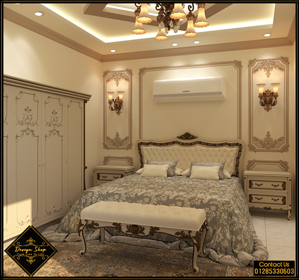 Classic Master Bedroom - Option 1 on Pantone Canvas Gallery