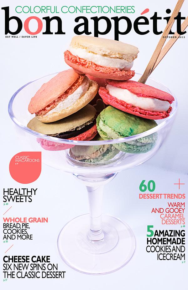 Bon Appetit Magazine Covers on CCS Portfolios