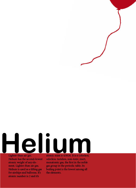 Periodic table helium images periodic table of elements list helium periodic table element poster on behance urtaz Choice Image