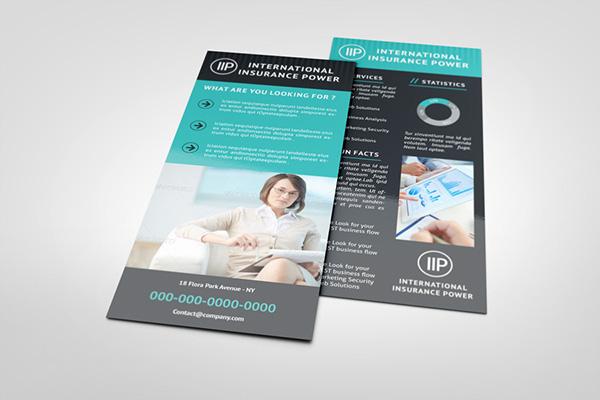 business rack card template on behance - Rack Cards