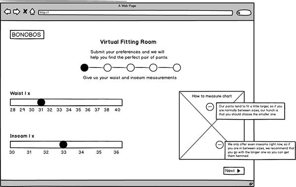 Bonobos Virtual Fitting Room Application On Philau Portfolios