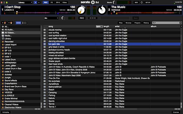 Serato DJ User Interface on Behance