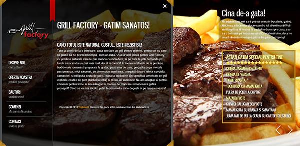 Grill Factory - Grill Factory cea mai buna friptura din oras!