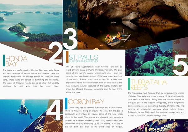 how to create travel brochure