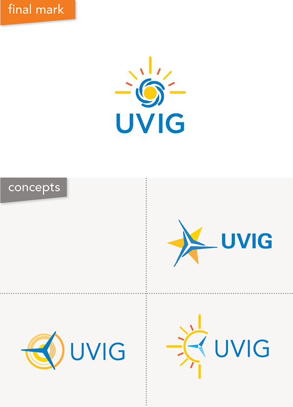 UVIG Brand Refresh and Collateral on Behance
