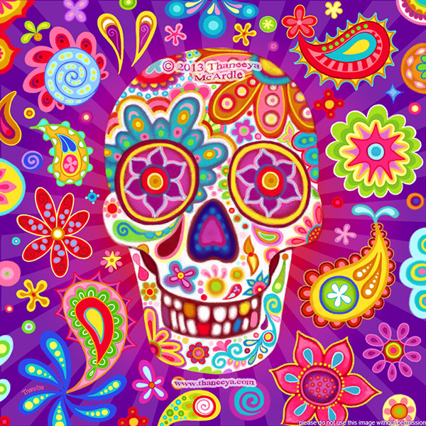Day Of The Dead Sugar Skulls By Thaneeya McArdle On Behance