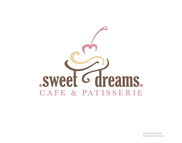 Sweet Dreams Cafe And Patisserie Logo Design On Behance