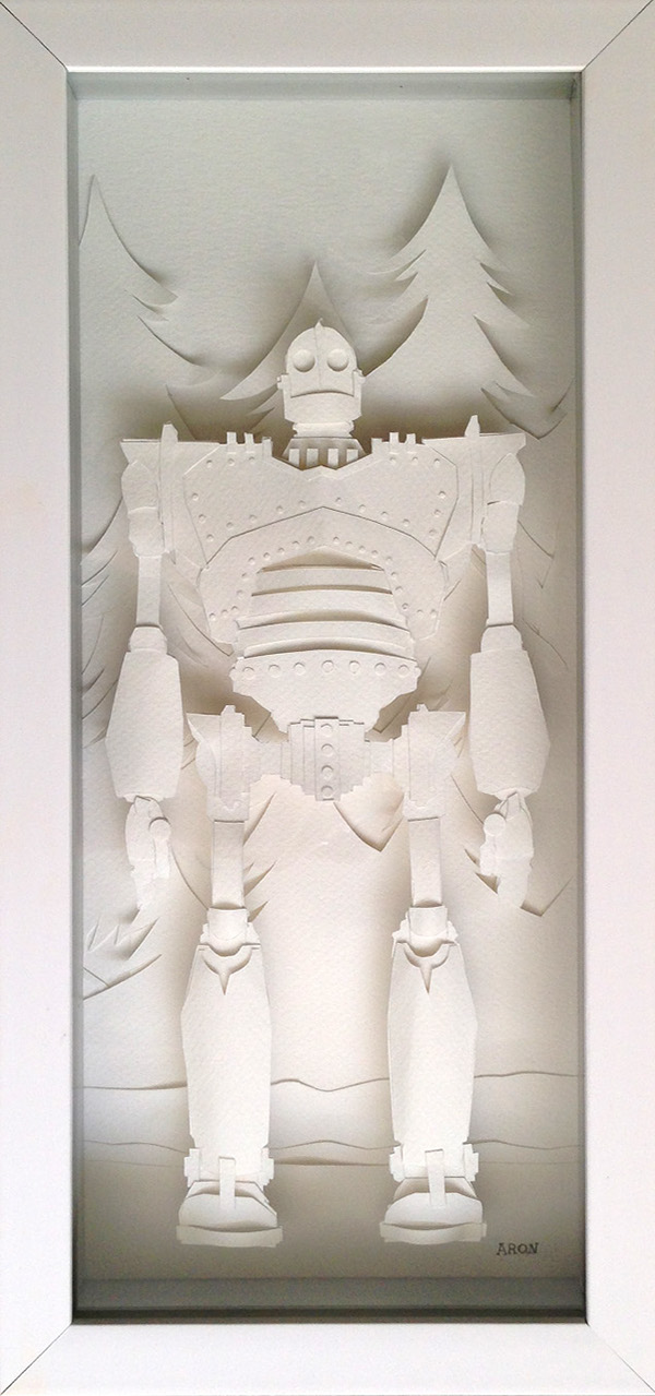 The Iron Giant (Papercraft) on Behance