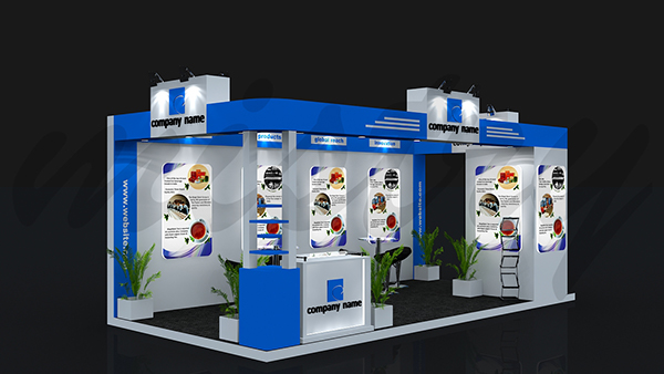 Basic Exhibition Booth : Exhibition booth design on behance