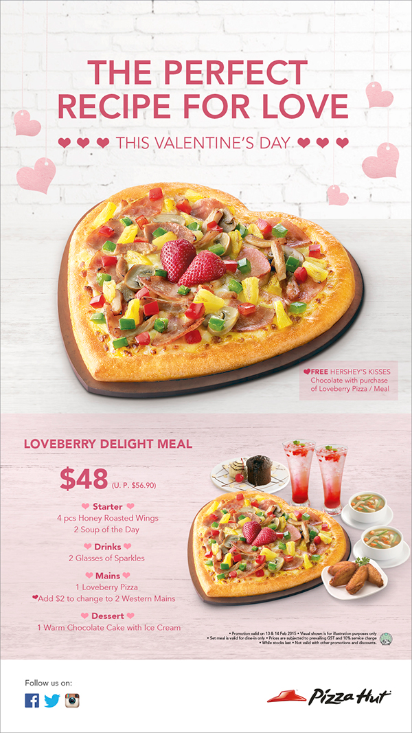 Pizza Hut Open Christmas Day.Pizza Hut Valentine S Day Campaign On Behance