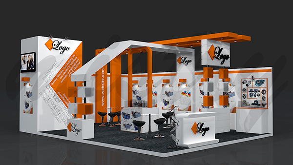 Exhibition Stall Designer Job : Exhibition booth design on behance