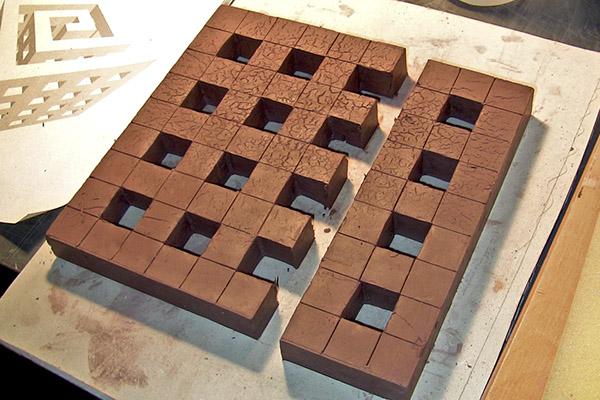 sculpture  ceramic sculpture  terra cotta  sketchup Hand Building