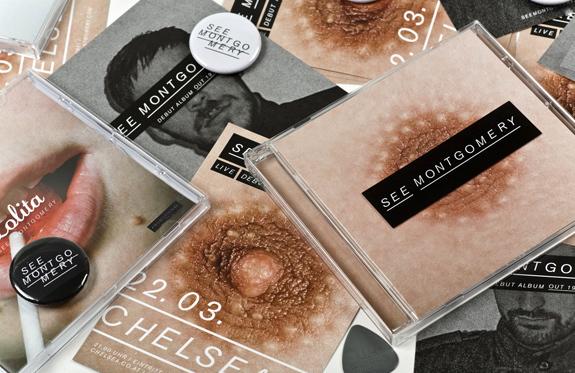 See Montgomery design for music album artwork album cover nipple pure