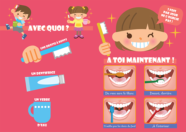 Favori Hygiène Bucco Dentaire Maternelle on Behance RT89