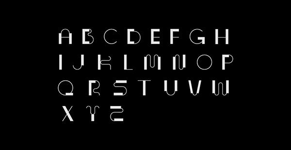 Archistorm x SURFACE typeface